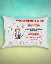 Love You Deeply Family Rectangular Pillowcase aos-pillow-rectangle-front-lifestyle-3