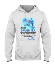 Thanks For Being Dolphin Hooded Sweatshirt thumbnail