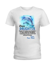 Thanks For Being Dolphin Ladies T-Shirt thumbnail