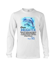 Thanks For Being Dolphin Long Sleeve Tee thumbnail
