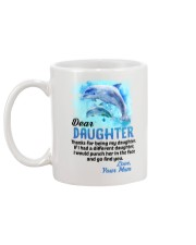 Thanks For Being Dolphin Mug back