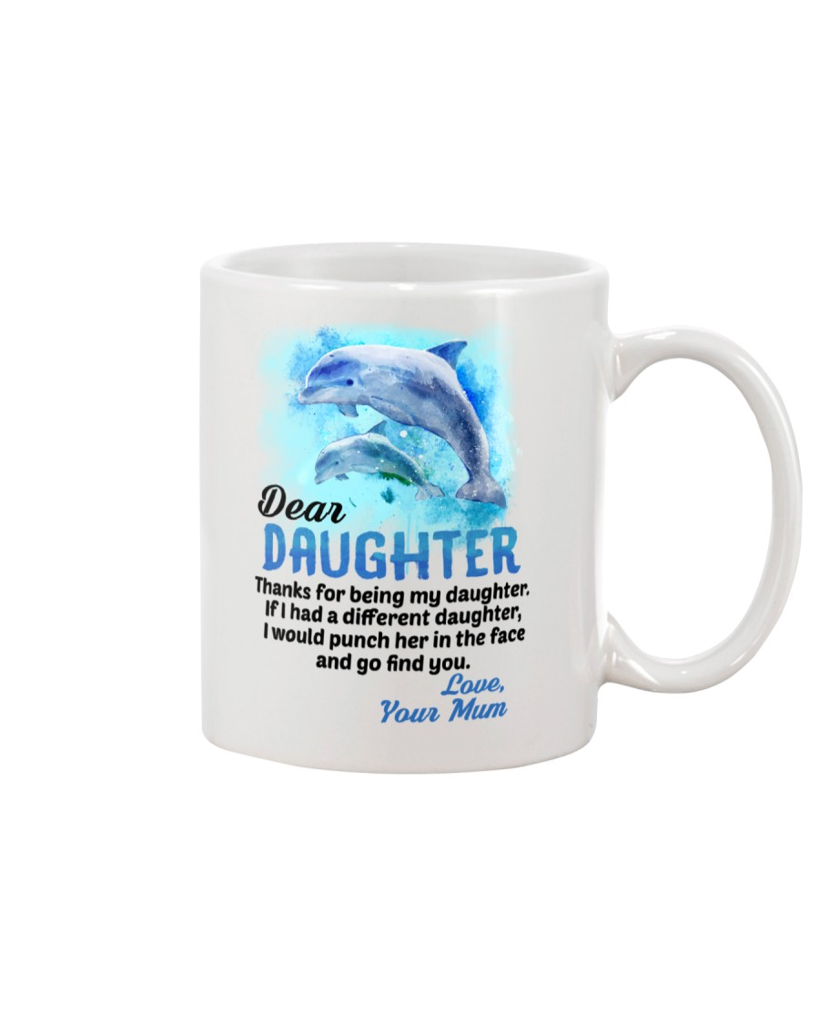 Thanks For Being Dolphin Mug