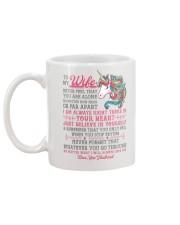 Unicorn Wife Near Or Far Apart Mug back
