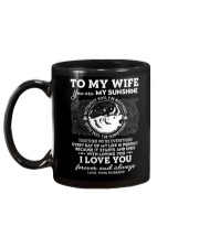 You Are My Sunshine Wolf Mug back