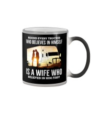 A Wife Who Believe In Him First Trucker Color Changing Mug thumbnail