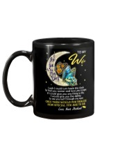 I Love You To The Moon And Back Butterfly  Mug back