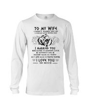 Wife Married You Wolf Long Sleeve Tee thumbnail