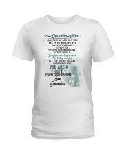 I Believe That God Sent You Into My Life Elephant  Ladies T-Shirt thumbnail