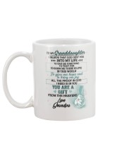 I Believe That God Sent You Into My Life Elephant  Mug back