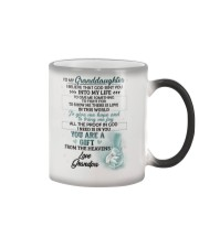 I Believe That God Sent You Into My Life Elephant  Color Changing Mug thumbnail