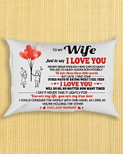 Just To Say I Love You Rectangular Pillowcase aos-pillow-rectangle-front-lifestyle-6