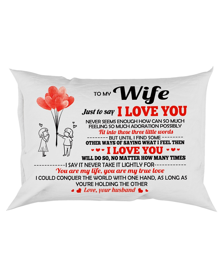 Just To Say I Love You Rectangular Pillowcase