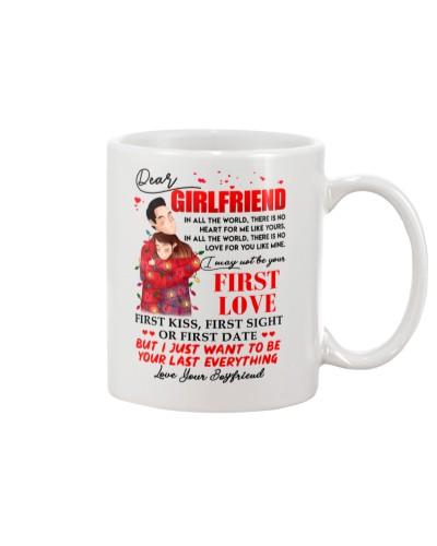 Family Girlfriend Your Last Everything Mug CC