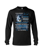 How Much You Mean To Me Wolf Long Sleeve Tee thumbnail