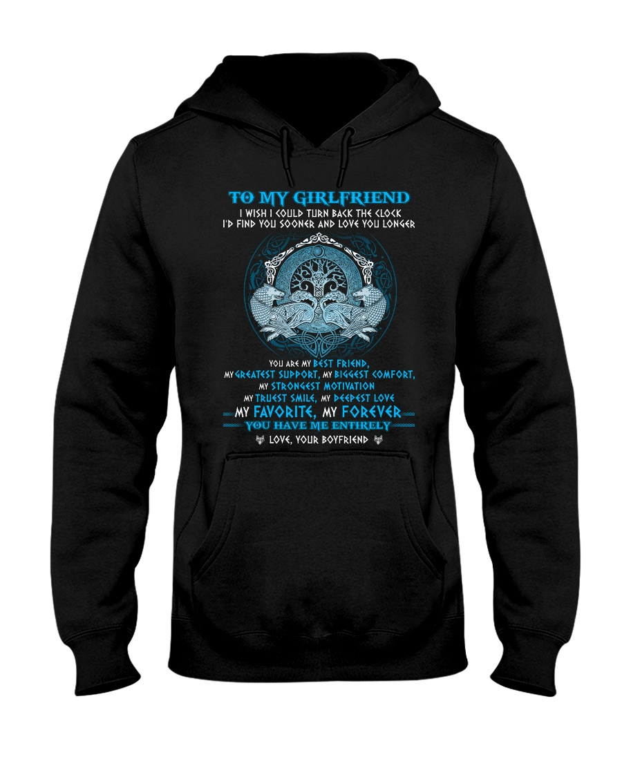 You Are My Best Friend Wolf Hooded Sweatshirt