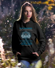 You Are My Best Friend Wolf Hooded Sweatshirt lifestyle-holiday-hoodie-front-5