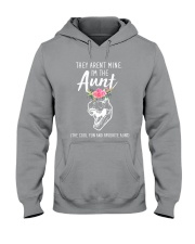 They Aren't Mine I'm The Aunt Dinosaur Hooded Sweatshirt thumbnail