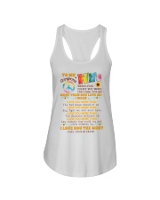 Hippie Wife I Love You More Ladies Flowy Tank thumbnail