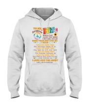 Hippie Wife I Love You More Hooded Sweatshirt thumbnail