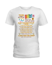 Hippie Wife I Love You More Ladies T-Shirt thumbnail