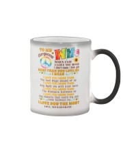 Hippie Wife I Love You More Color Changing Mug thumbnail