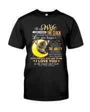 WIFE CLOCK ABILITY MOON Classic T-Shirt thumbnail