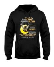 WIFE CLOCK ABILITY MOON Hooded Sweatshirt thumbnail