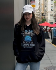 I Love You Wolf Hooded Sweatshirt lifestyle-unisex-hoodie-front-5