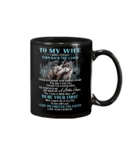 I Love You Forever And Always Wolf Mug thumbnail