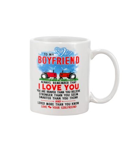 Farmer Boyfriend I Love You