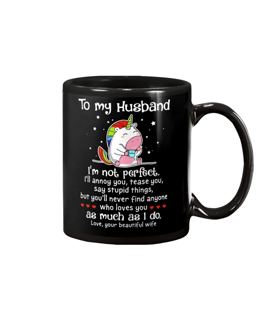 I'm Not Perfect Unicorn Mug
