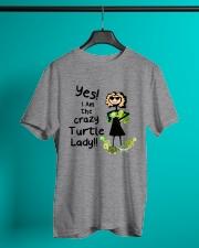 I Am The Crazy Turtle Lady Classic T-Shirt lifestyle-mens-crewneck-front-3