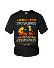 Life Gets Hard Daughter Youth T-Shirt thumbnail