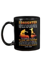 Life Gets Hard Daughter Mug back