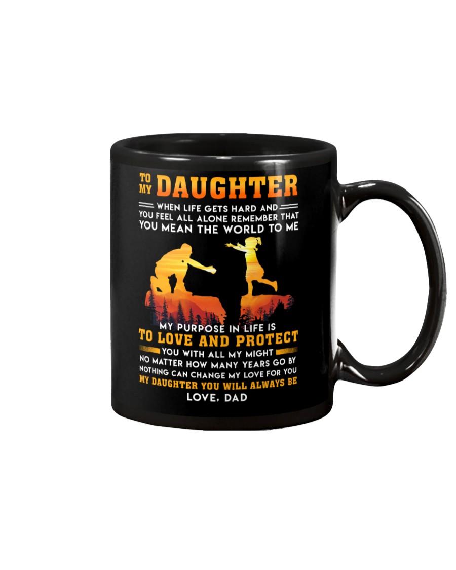 Life Gets Hard Daughter Mug