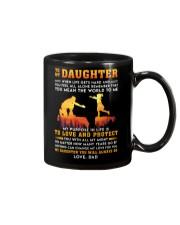 Life Gets Hard Daughter Mug front