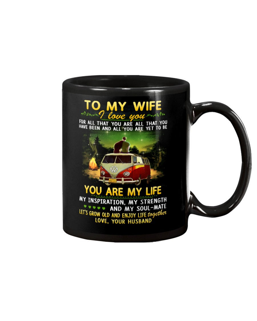 Camping Wife You Are My Life Mug