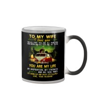 Camping Wife You Are My Life Color Changing Mug thumbnail