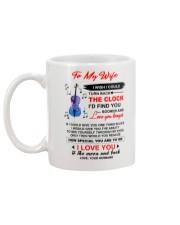 Instruments Cello Wife Clock Ability Moon Mug back
