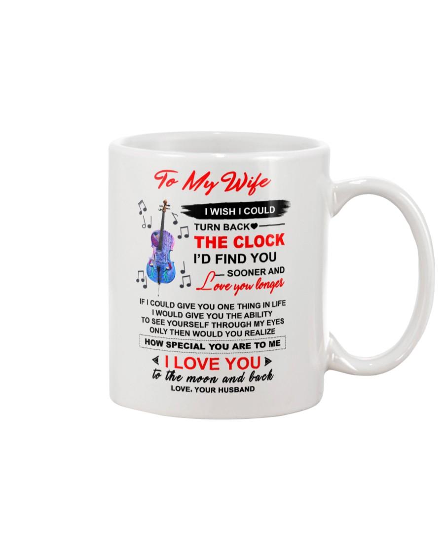 Instruments Cello Wife Clock Ability Moon Mug