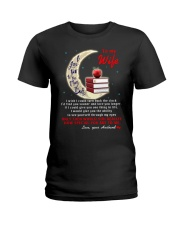 I Love You To The Moon And Back Teacher  Ladies T-Shirt thumbnail