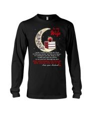 I Love You To The Moon And Back Teacher  Long Sleeve Tee thumbnail