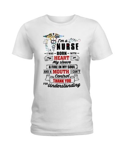 I Was Born With My Heart On My Sleeve Nurse