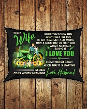 I Hope You Know That Farmer Rectangular Pillowcase aos-pillow-rectangle-front-lifestyle-2