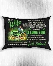I Hope You Know That Farmer Rectangular Pillowcase aos-pillow-rectangle-front-lifestyle-4