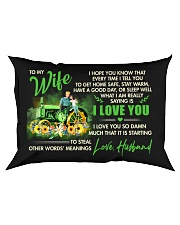 I Hope You Know That Farmer Rectangular Pillowcase front