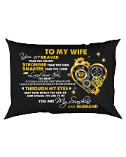 Braver Than You Believe Mechanic Rectangular Pillowcase back