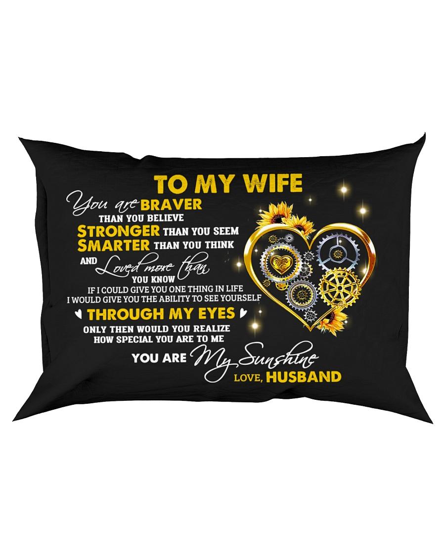Braver Than You Believe Mechanic Rectangular Pillowcase