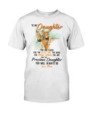 Little Girl Special Woman Precious Daughter Horse Classic T-Shirt thumbnail