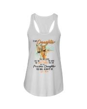 Little Girl Special Woman Precious Daughter Horse Ladies Flowy Tank thumbnail
